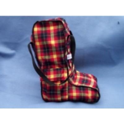 Boot Bag Long - Brushed Cotton