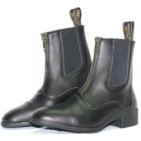 Riding Boot - Baxter 'Palomino Zip Boot' BLACK