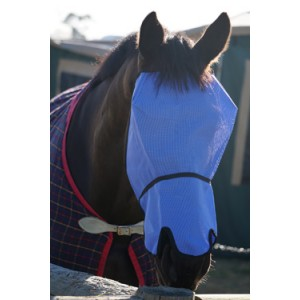 Fly Mask - UV Block-Out Extended Nose COLOURS