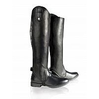 Gaiters Soft Leather - Horze BLACK