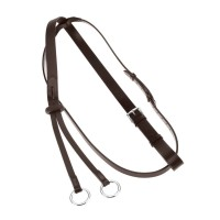 Martingale Running - Leather w/ Stopper