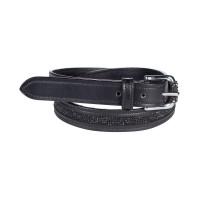 Belt - Women's Crystal BLACK