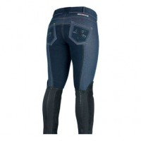 Breeches - Ladies Horze Denim Royal Equus FS