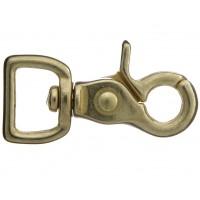 Snap Scissor Hook Brass 20mm