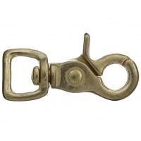 Snap Scissor Hook Brass 15mm