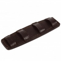Curb Chain Guard - Leather