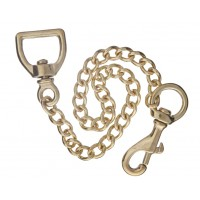 Lead Chain - Solid Brass 18""