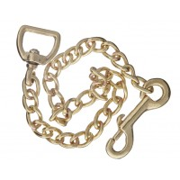 Lead Chain - Solid Brass 24""