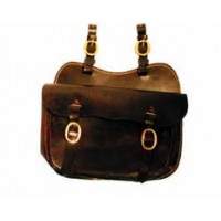 Saddle Bag Single - Leather