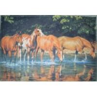 Mat - Floor Mat Wild Horses