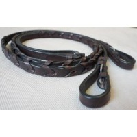 Reins - Leather Laced / Billet Ends RideRite PONY