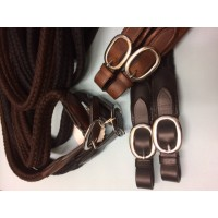 Reins - Cotton RideRite SS Fittings