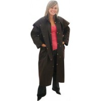 Oilskin Coat Full Length