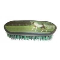 Horse Scene Dandy Brush