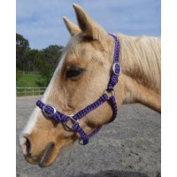 Headstall Soft Braided Heavy Duty