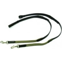 Side Reins - Leather / Elastic