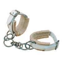 Hobbles - Chrome Leather & Chain