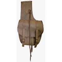 Saddle Bag Double - Nubuck