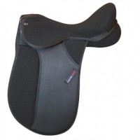 Synthetic Dressage Saddle Status Elite