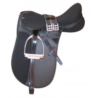Synthetic Dressage Saddle Kit Status Elite