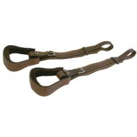 Stockman Fenders - Leather Ox Bow Set