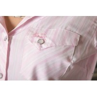 Shirt - Womens Outback S/S Pale Pink
