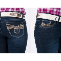 Jeans - Ladies Outback Wild Child Bling 3