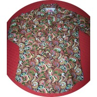 Shirt - Womens Outback L/S Paisley