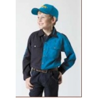 Shirt - Kids Outback 2 Tone NAVY/ROYAL