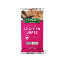 Oakwood Leather Wipes - On the Go 10 Pack