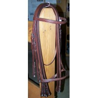 "Weymouth Bridle ""Signature"" Brown Cob"