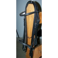 "Weymouth Bridle ""Signature"" Black Full"