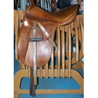 Stubben Parzival Saddle 17""