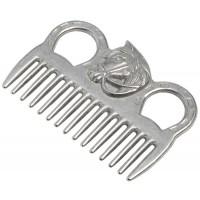 Mane Comb - Aluminium Horse Head