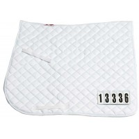 Saddle Cloth - Competition w/ Numbers DR