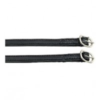 Spur Straps - Stitched Aintree Leather 10mm