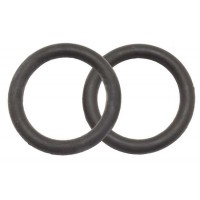 Peacock Iron Rubber Bands BLACK