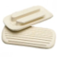 Stirrup Treads - Two Bar or Safety Irons WHITE