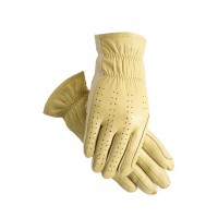 Gloves - SSG 4000 Pro Show Leather Palm FLAX