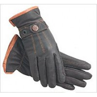 Gloves - SSG 2400 Work 'n Horse UNLINED DARK BROWN