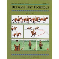 "Book ""Dressage Test Technique"" by Judy Harvey"