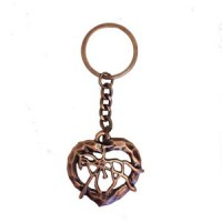 Key Chain - Bronze Horse & Rider