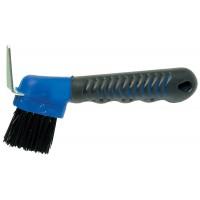 Hoof Pick Deluxe Soft-Grip w/ Brush