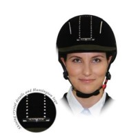 """Helmet - """"Huntington"""" Velvet Bling"""