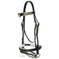Hanoverian Transition Head Bridle J&L