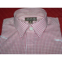 Show Shirt Childs Windsor Red Check