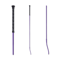 Dressage Whip Anti-Slip - Lilac