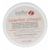 Kieffer Black Leather dye Cream