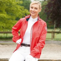 Jacket - ELT 'ALEXIA' Bomber Jacket POPPY RED