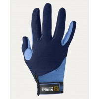 Gloves - NOBLE OUTFITTERS Perfect Fit Cool Mesh Glove - Periwinkle / Navy